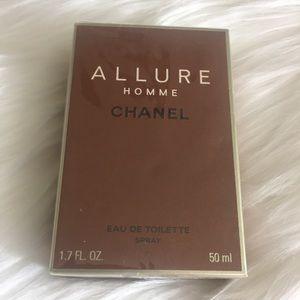 Chanel Allure Homme Eau Dr Toilette 1.7 oz 50ml